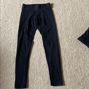 American eagle black leggings XS